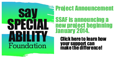 say Special Ability Foundation Project Announcement