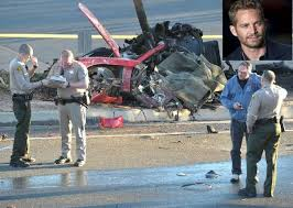 Paul Walker   Porsche Carrera GT crash scene4