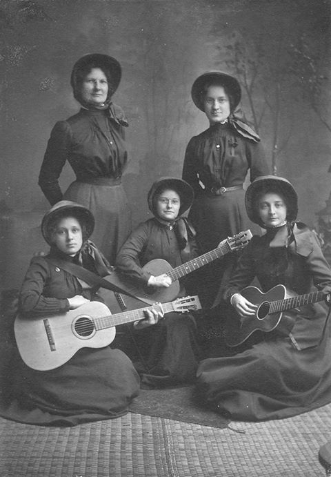 c1910....(possibly) Salvation Army String Band