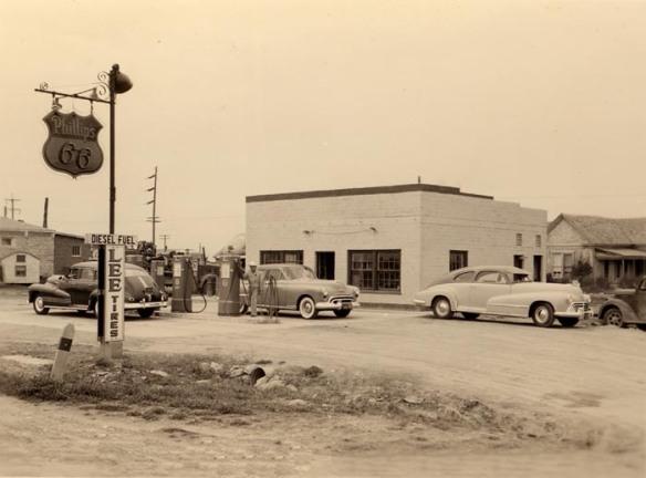 Vintage gas station 1