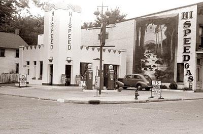 Vintage gas station 2