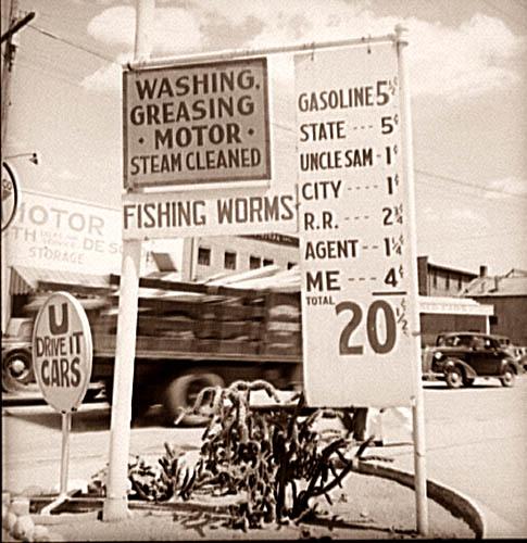 Vintage gas station 4