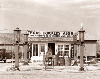 Vintage gas station 5