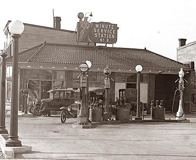 Vintage gas station 6