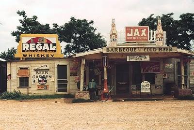 Vintage gas station 7
