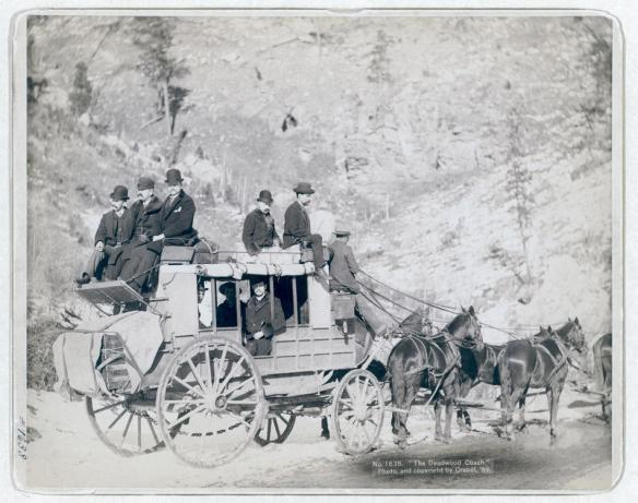 1889 Deadwood Stage in the Dakota Territory