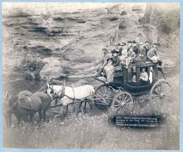Tallyho Coaching Sioux City 1889