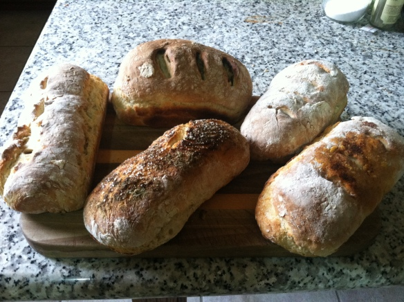 Homemade bread